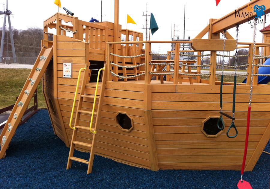 Корабли из дерева для детей своими руками 425